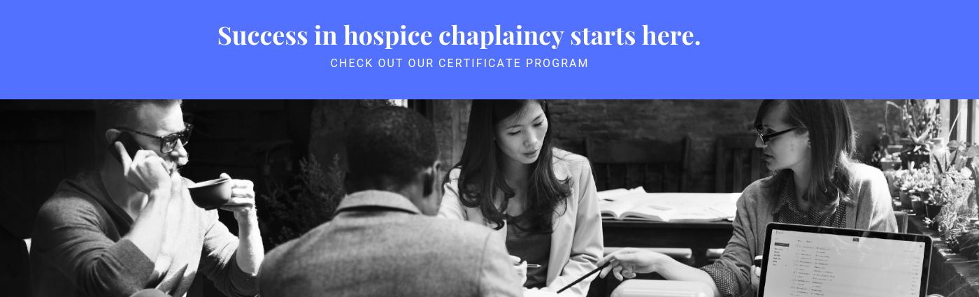HOSPICE CHAPLAINCY